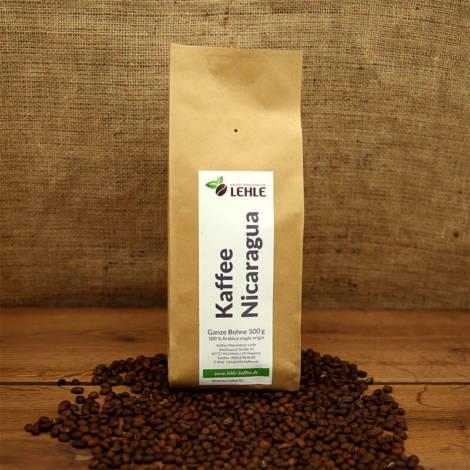 Kaffee-Manufaktur Lehle - Kaffee Nicaragua Verpackung