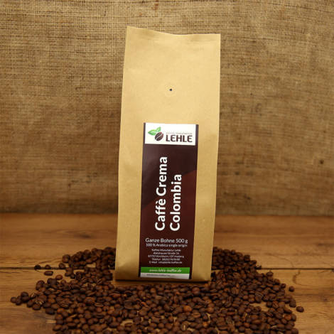 Kaffee-Manufaktur Lehle - Caffé Crema Colombia Verpackung