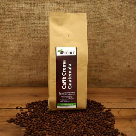 Kaffee-Manufaktur Lehle - Caffé Crema Guatemala Verpackung