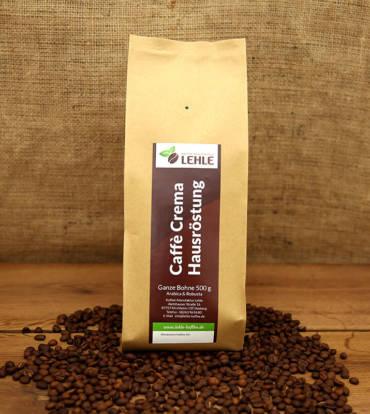 Kaffee-Manufaktur Lehle - Caffé Crema Hausröstung Verpackung