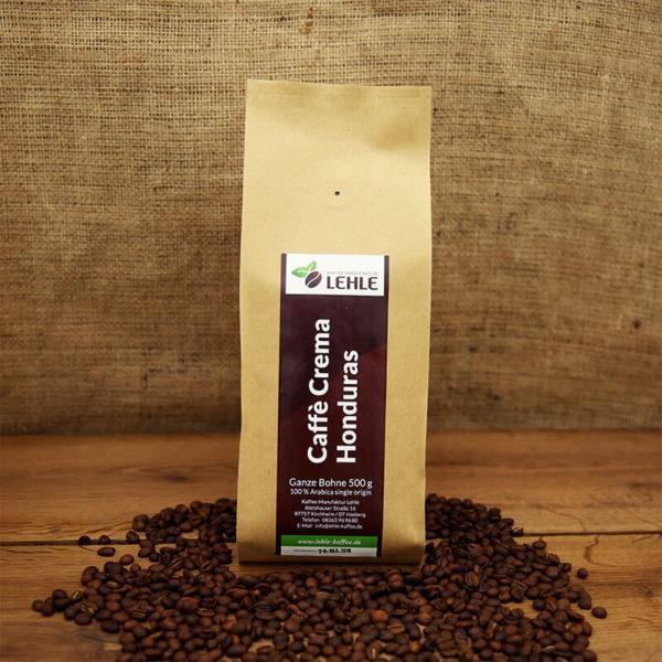Kaffee-Manufaktur Lehle - Caffé Crema Honduras Verpackung
