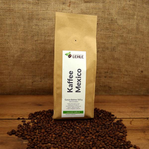 Kaffee-Manufaktur Lehle - Kaffe Mexico Verpackung