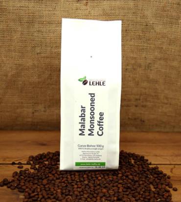 Kaffee-Manufaktur Lehle - Malabar Monsooned Coffee Verpackung