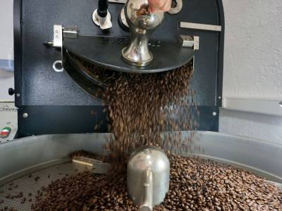 Kaffee-Manufaktur Lehle Kaffebohnen Röstung Prozess