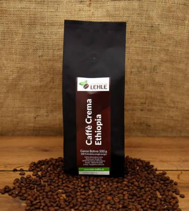 Kaffee-Manufaktur Lehle - Caffé Crema Ethiopia Verpackung